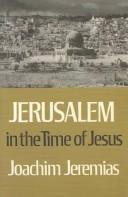Download Jerusalem in the Time of Jesus