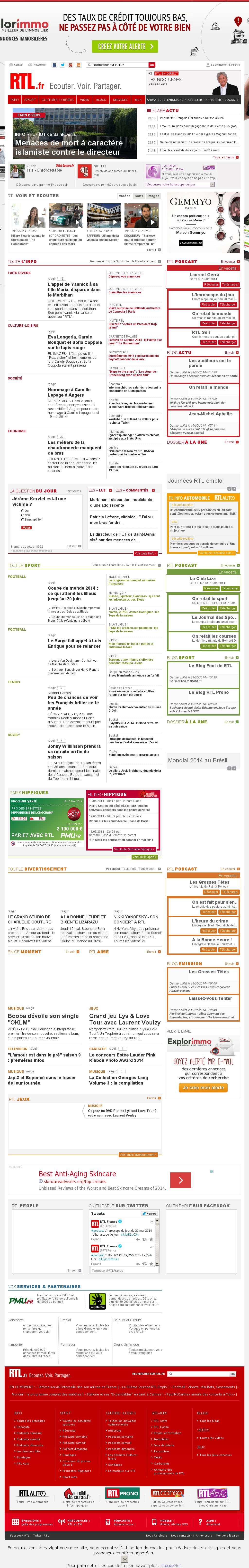 RTL at Tuesday May 20, 2014, 12:20 a.m. UTC