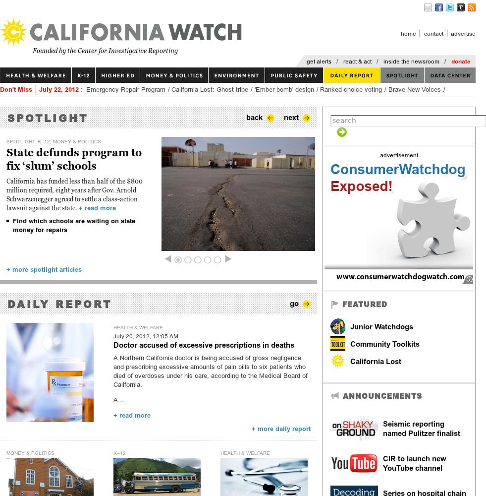 California Watch