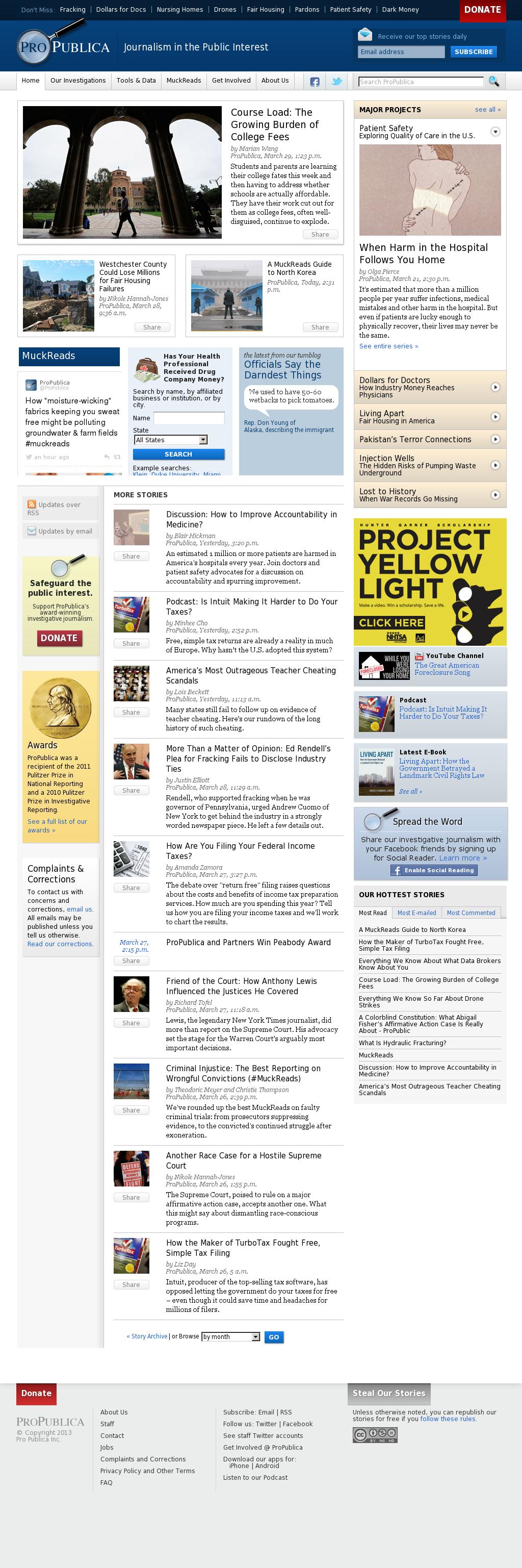 ProPublica at Wednesday April 3, 2013, 2:18 a.m. UTC