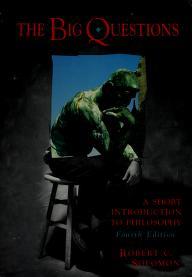 Cover of: The big questions | Robert C. Solomon